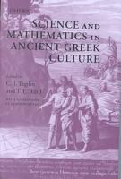 Science and Mathematics in Ancient Greek Culture PDF