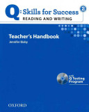 Q Skills for Success  Reading and Writing 2  Teacher s Book with Testing Program CD ROM PDF