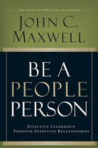 Be A People Person Book