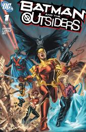 Batman and the Outsiders (2007-) #1