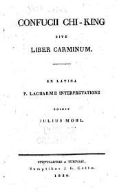 Confucii Chi-king, sive, Liber carminum