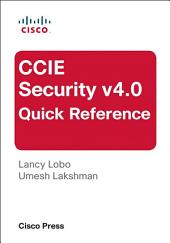 CCIE Security v4.0 Quick Reference: Edition 3