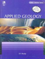 Applied Geology  For Anna  PDF