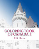 Coloring Book of Canada  I