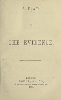 A Flaw in the Evidence PDF