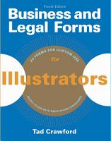 Business and Legal Forms for Illustrators PDF