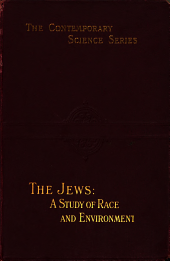 The Jews: A Study of Race and Environment