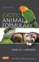 Exotic Animal Formulary   eBook PDF