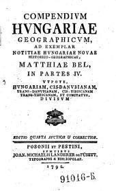 Compendium Hungariae geographicum (etc.)