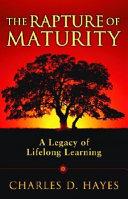 The Rapture of Maturity PDF