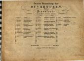 Zweite Sammlung der Ouverturen für das Pianoforte0: Johann v. Wieselburg, Volume 81