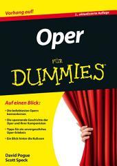 Oper für Dummies: Ausgabe 3