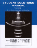 Student Solutions Manual for Essential University Physics Book