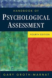Handbook of Psychological Assessment: Edition 4