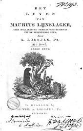 Het leven van Maurits Lijnslager: eene Hollandsche familie-geschiedenis uit de zeventiende eeuw, Volume 3