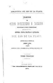 Historia de la conquista del Paraguay, Rio de la Plata y Tucuman: Volúmenes 3-4