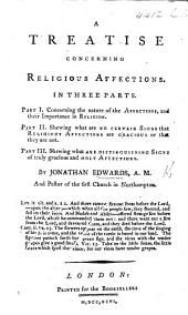 A treatise concerning religious Affections. MS. corrections