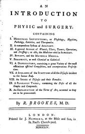 An introduction to physic and surgery
