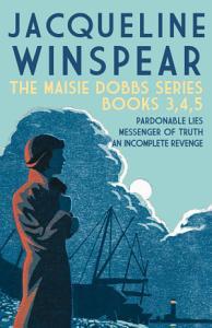 The Maisie Dobbs series   Books 3  4  5 Book
