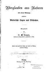 Aberglauben aus Masuren mit einem Anhange: enthaltend: Masurische Sagen und Mährchen