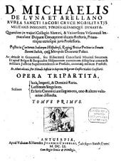 Opera tripartita: Volume 1
