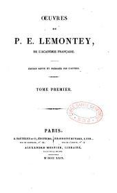 Oeuvres de P.-É. Lemontey