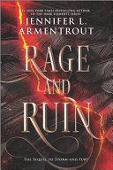Rage and Ruin Book