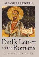 Paul s Letter to the Romans PDF