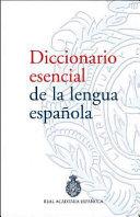 Diccionario esencial de la lengua espa  ola PDF