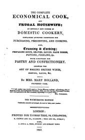 The Complete Economical Cook, and Frugal Housewife ... The Fourteenth Edition, Considerably Amended and Enlarged, Etc