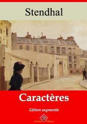 Caractères: Nouvelle édition augmentée