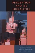 Perception and Its Modalities PDF
