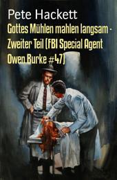 Gottes Mühlen mahlen langsam - Zweiter Teil (FBI Special Agent Owen Burke #47): Cassiopeiapress Thriller