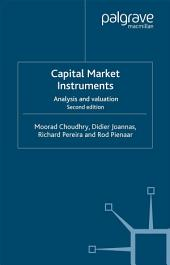Capital Market Instruments: Analysis and valuation, Edition 2