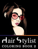 Hair Stylist Coloring Book 2 PDF