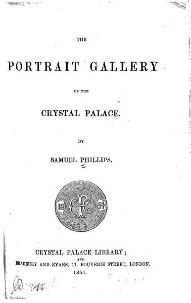 The Portrait Gallery of the Crystal Palace PDF