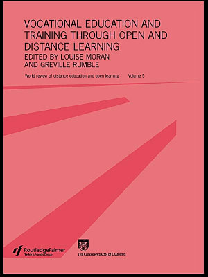 Vocational Education and Training Through Open and Distance Learning PDF