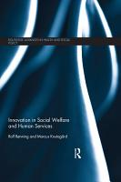 Innovation in Social Welfare and Human Services PDF