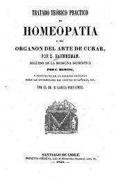 Tratado teórico práctico de homeopatía: o, sea Organon del arte de curar