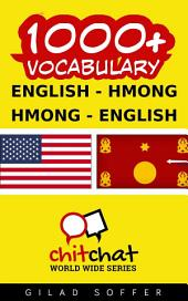 1000+ English - Hmong Hmong - English Vocabulary