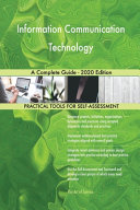 Information Communication Technology A Complete Guide   2020 Edition PDF