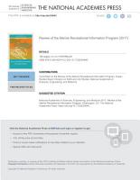 Review of the Marine Recreational Information Program PDF