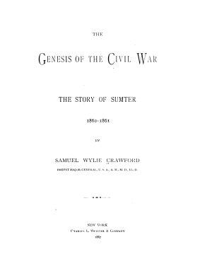 The Genesis of the Civil War PDF