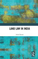 Land Law in India PDF