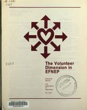 The volunteer dimension in EFNEP.: Issue 1166