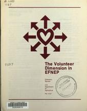 The volunteer dimension in EFNEP.: Issue 1166