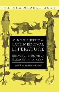 Mindful Spirit in Late Medieval Literature PDF