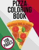 Pizza Coloring Book