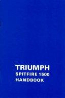 Triumph Spitfire 1500 Handbook