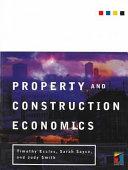Property and Construction Economics PDF